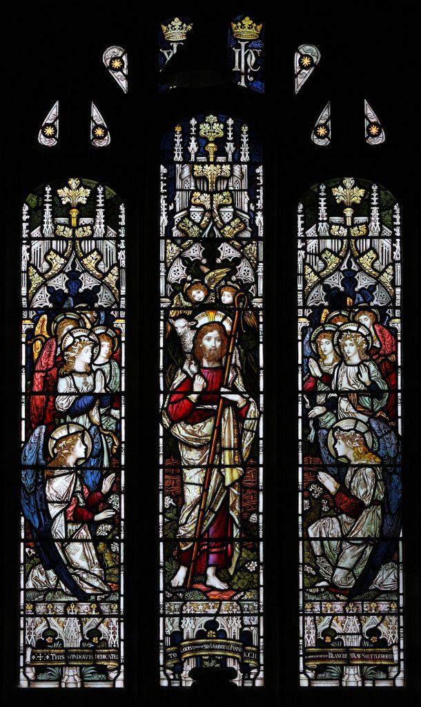 https://flic.kr/p/8iTCb2 | Barbon, Cumbria, St Bartholomew | west window by Frank Mann for James Powell & Sons 1892