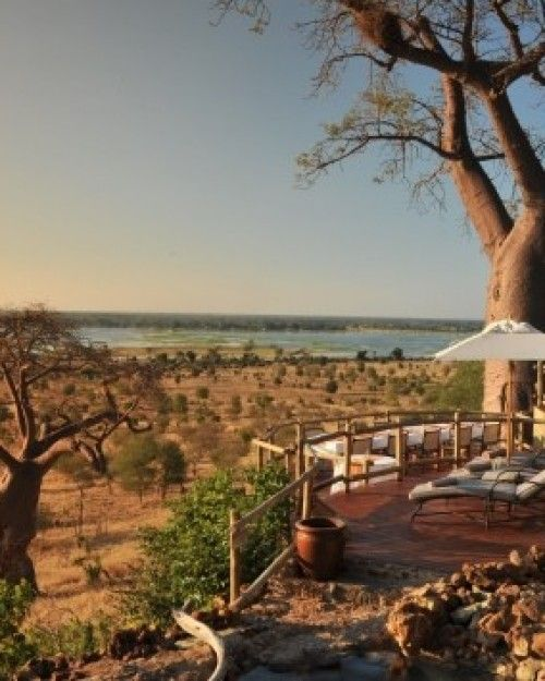 Romance in Southern Africa   ... Ngoma Safari Lodge is a luxurious safari destination located in northern Chobe. #Jetsetter #JSElephant