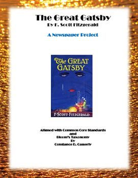 Literature - The Great Gatsby Newspaper Project | All the Latest