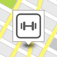A check-in at LA Fitness