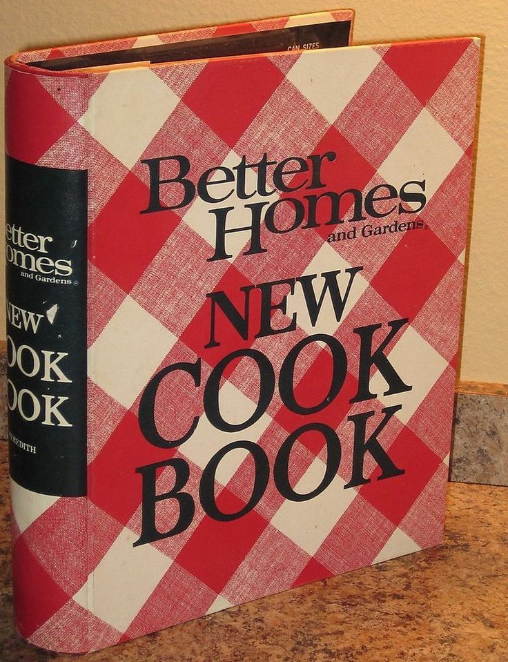 Vintage 1969 Better Homes And Gardens New Cookbook 5 Ring