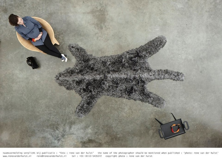 Coming Soon! Wolf from Roadkill collection by DutchDesigner Roderick Vos (www.carpetsign.nl)