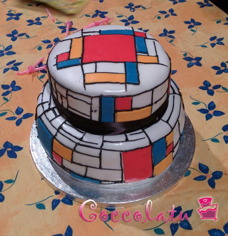 Torta Mondrian!!! Yeahhh!!!