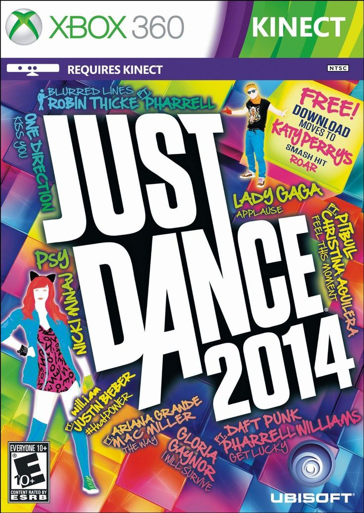 Just Dance 2014 brings all new moves with breakthrough features for every motion-control platform and over 40 of the hottest tracks! Dance to current pop hits or celebrate with legendary classics, the
