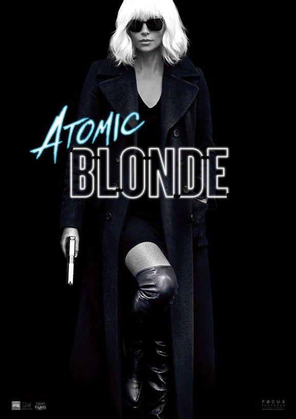 Charlize Theron in Atomic Blonde. Sexy & knallhart. Hier das erste Poster zum Film.