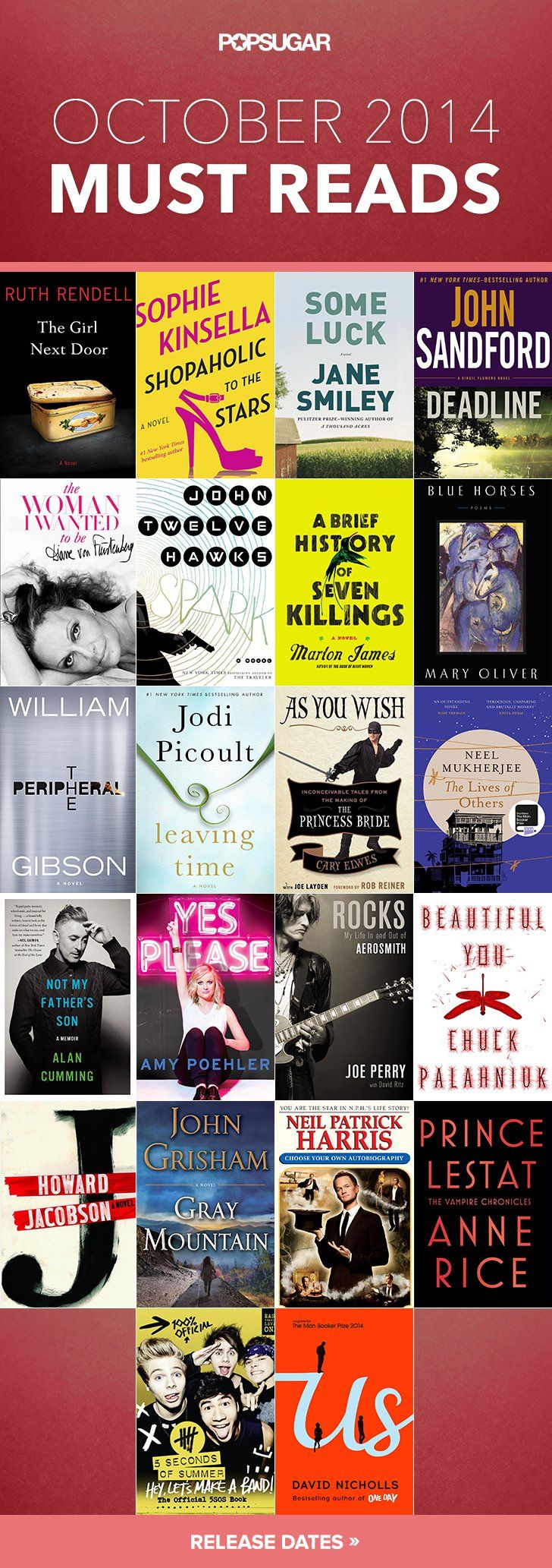 Pin for Later: October Must Reads