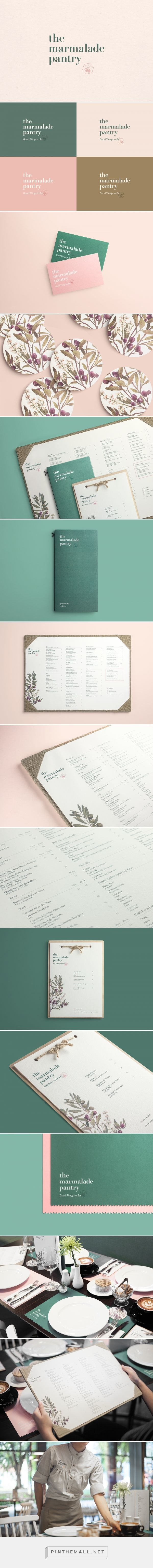The Marmalade Pantry Restaurant Branding and Menu Design by Bravo | Fivestar Branding Agency – Design and Branding Agency & Curated Inspiration Gallery