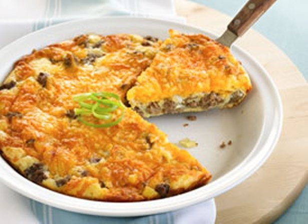 Impossibly Easy Cheeseburger Pie | Healthy Budget Friendly ...