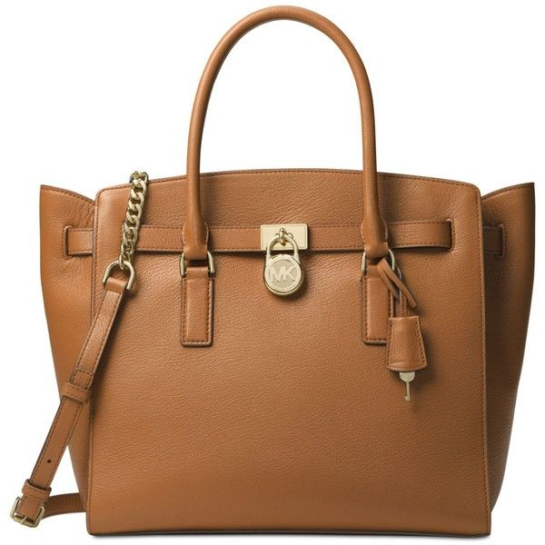 Michael Michael Kors Hamilton Extra-Large Tote ($358) ❤ liked on Polyvore featuring bags, handbags, tote bags, acorn, leather tote handbags, michael kors tote bag, leather tote purse, leather handbag tote and genuine leather tote