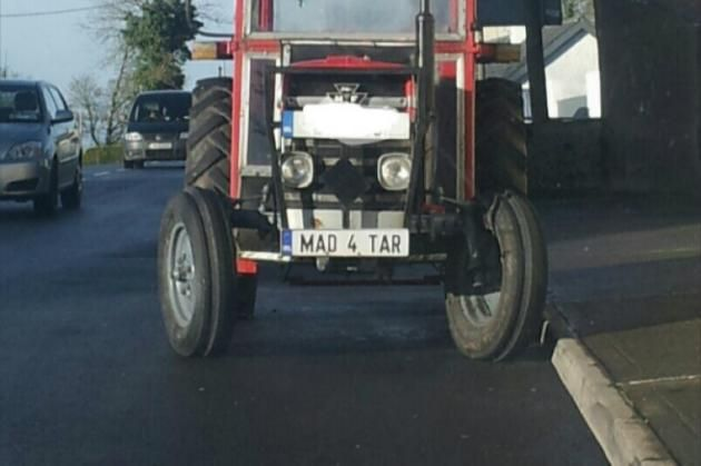 The most Irish number plate ever was just spotted in Galway