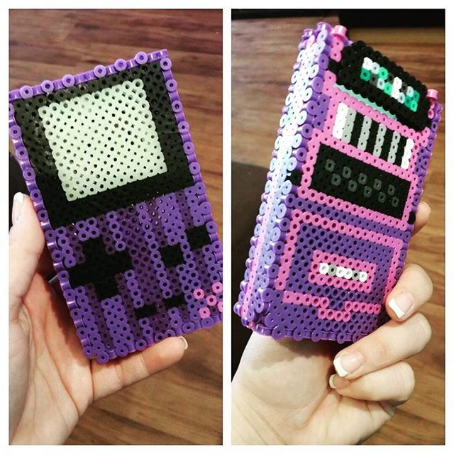 Game Boy perler beads by jhuffine87
