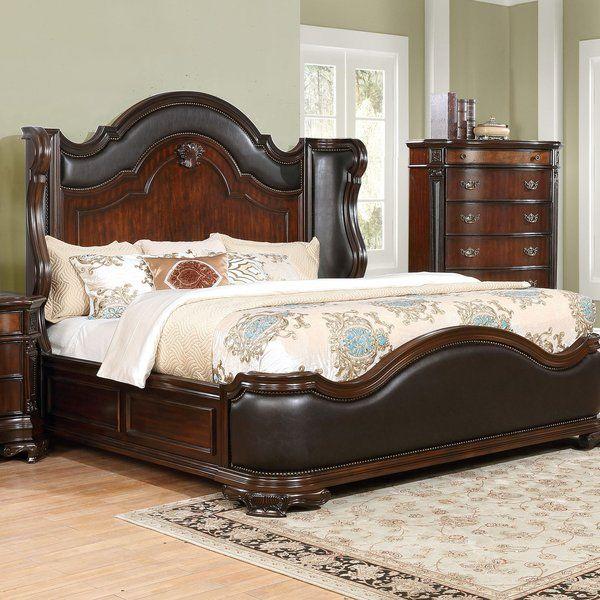 Murtagh Upholstered Standard Bed Upholstered Panel Bed Wooden