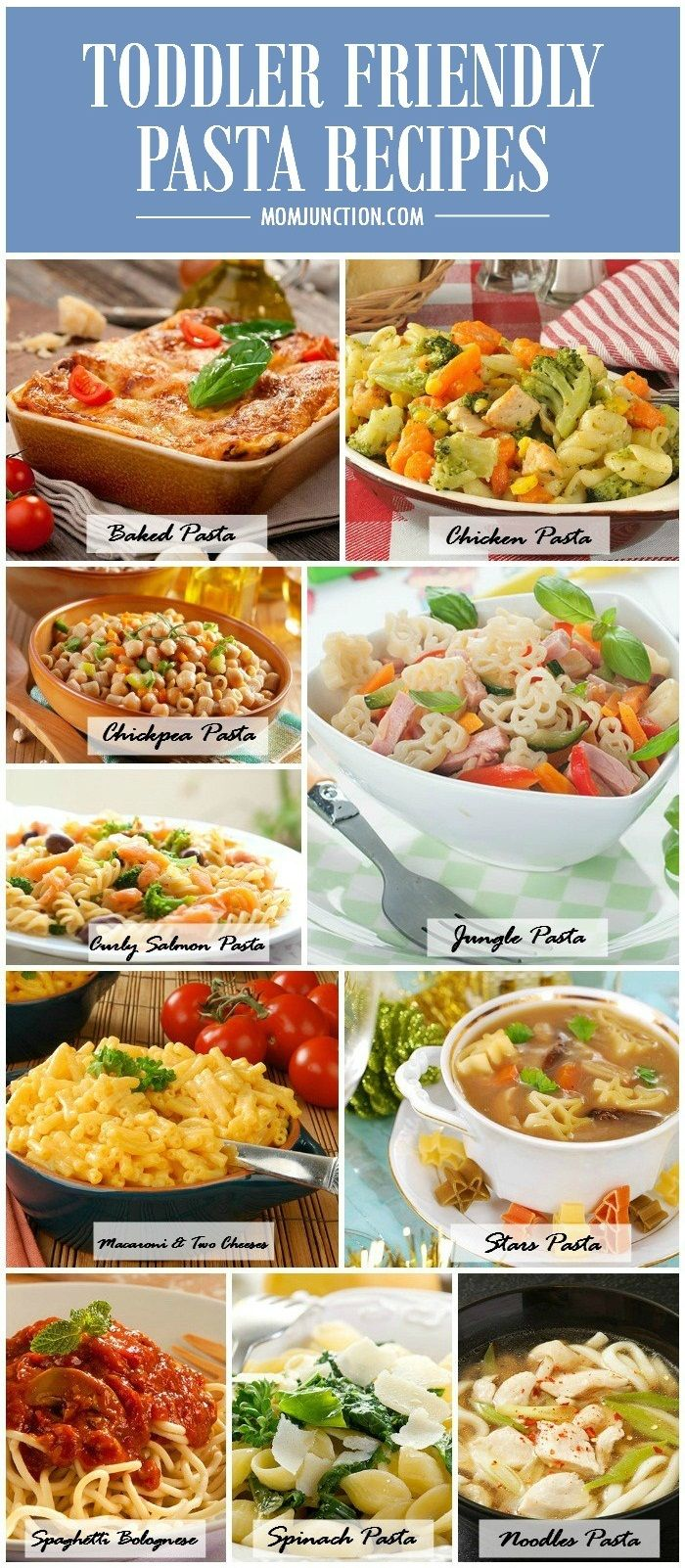 10 Yummy Pasta Recipes Your Toddler Will Love: Ready to do the tango with pasta? Let's cook some delicious dishes for your toddler!