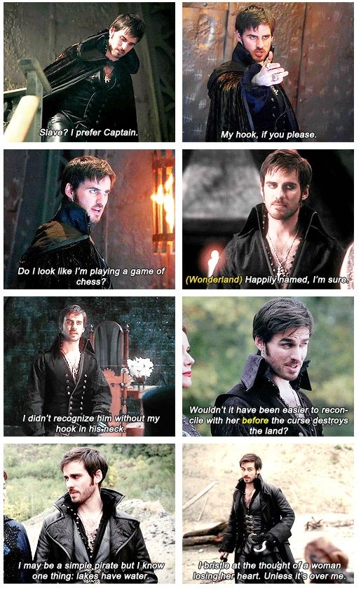 "Killian ""Fabulous"" Jones Moments in Queen of Hearts. God he's so sassy XD"