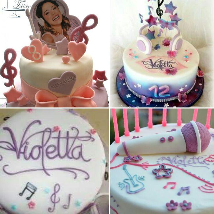 Alcune idee per la torta (Foto prese dal web)