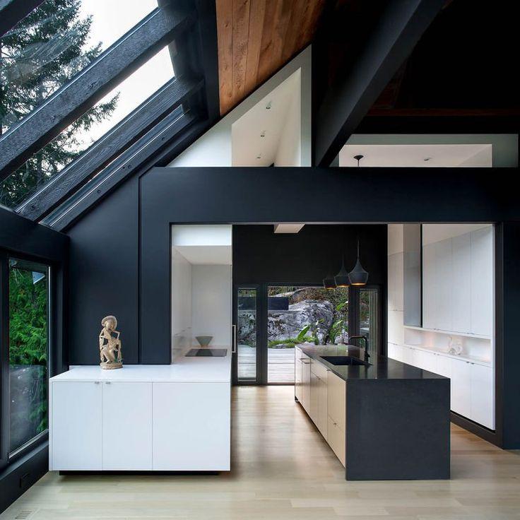 Examinez les 73 idées de cuisine moderne suivantes et découvrez les meilleures propositions sur le mobilier, les couleurs, la déco, l'îlot avec ou sans bar
