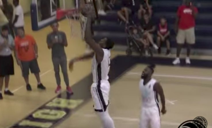 Hassan Whiteside Dominates Miami Pro Am