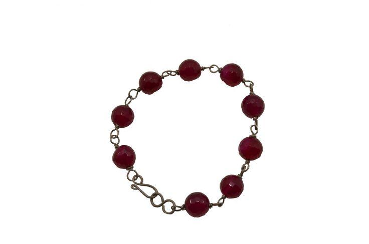 Βραχιόλι με αχάτη - Bracelet with agate