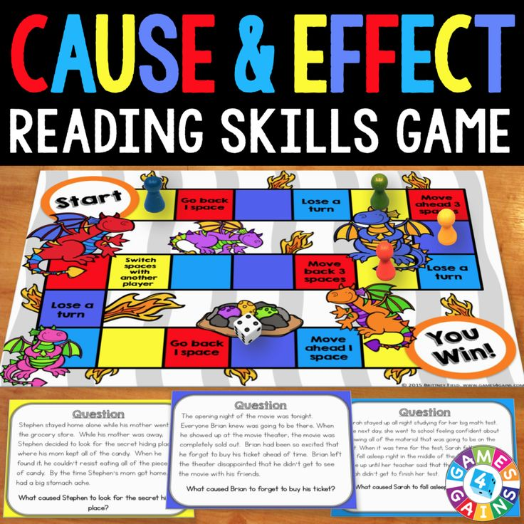 Cause and Effect Board Game