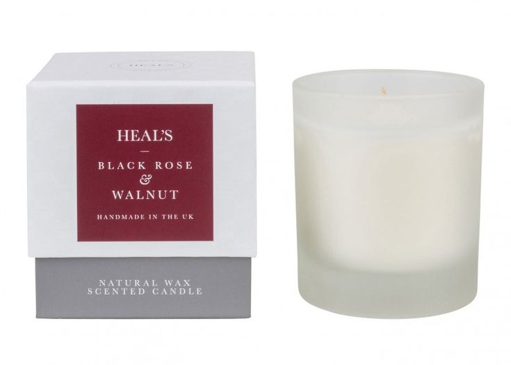 Add a delicious luxury scented candle from Heal's for total relaxation
