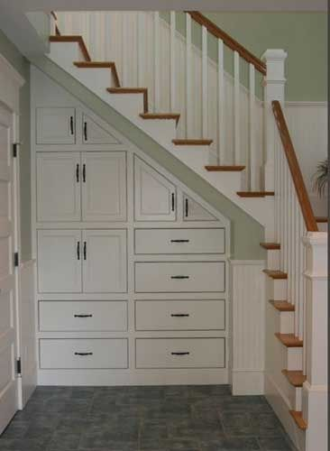 Under Stair Storage @ Home Remodeling Ideas just the idea