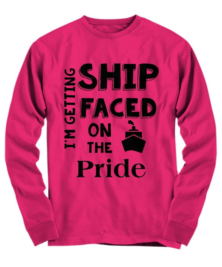 Carnival Pride Pub Crawl Tee - I'm Getting Ship Faced on the Pride