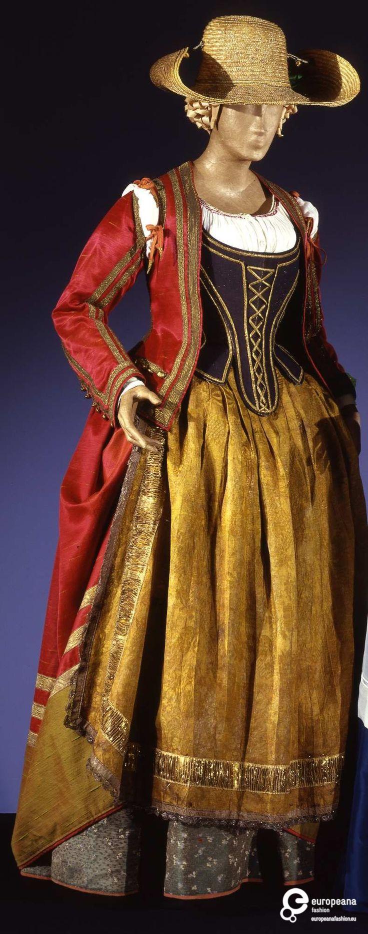 Costume designed by Piero Tosi and worn by Laura Antonelli in Il malato immaginario, by Tonino Cervi, 1979. Courtesy Galleria del Costume di Palazzo Pitti, all rights reserved.