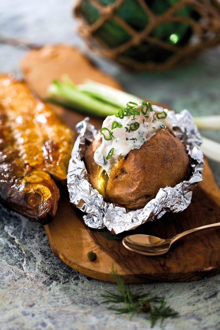 Smoked fish mousse