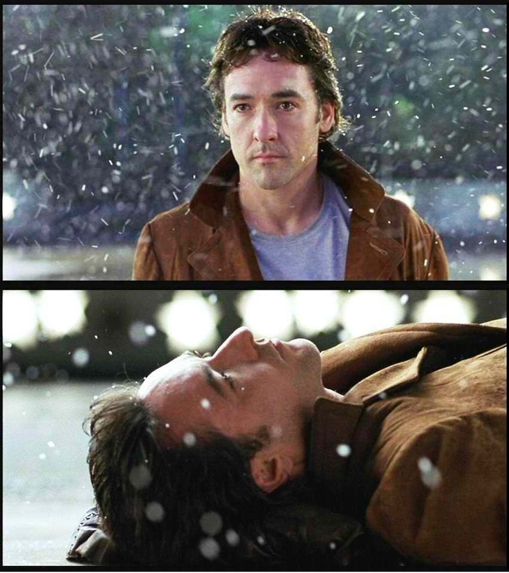 John Cusack in serendipity.  I love how he looks at her. I'm a fool for 'dreamers.'