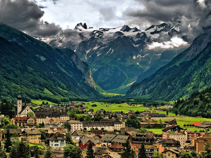 Engelberg, Switzerland - also one of my favorite Swiss places!