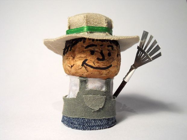 Picture of Corkies - Champagne Cork Figurines