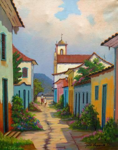 Rua e Fachadas Julio Vesgo