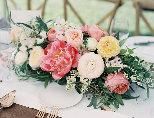 20 Gorgeous Wedding Centerpieces Bouquets Featuring Peonies