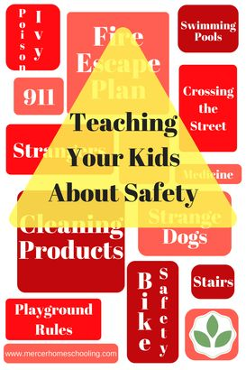 Teaching kids about safety - with a free printable safety checklist.