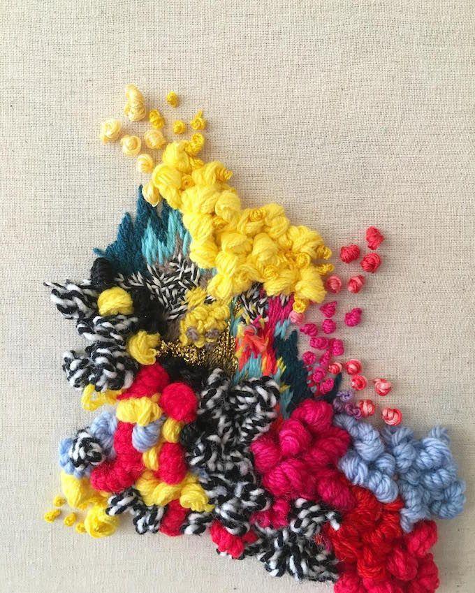 Embroidery by Trini Guzmán