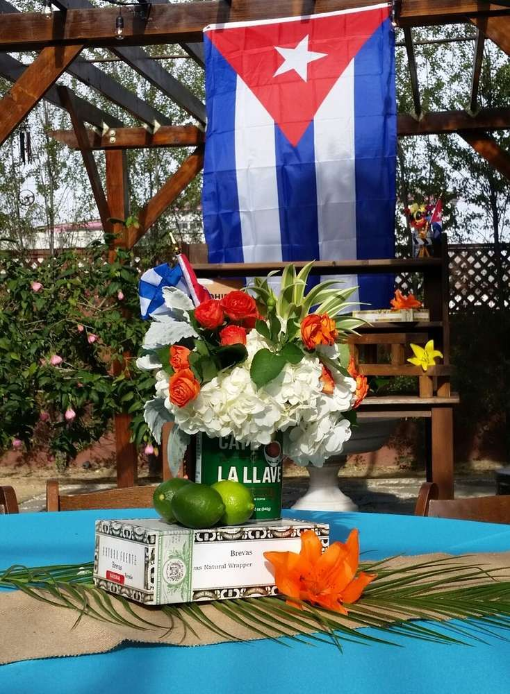Cuban Themed Party Decorations