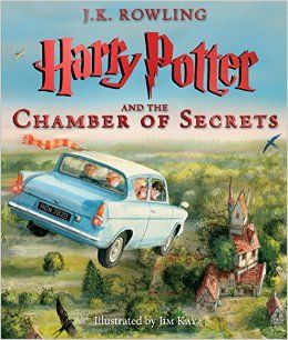 Harry Potter and the Chamber of Secrets: The Illustrated Edition (Harry Potter, Book 2): J.K. Rowling, Jim Kay: 9780545791328: Amazon.com: Books