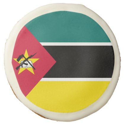 #Mozambique Flag Sugar Cookie - #Chocolates #Treats #chocolate