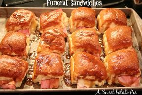 Just posted a recipe for Funeral Sandwiches!  Seriously the best sandwich I have had in a long time!  http://asweetpotatopie.com/2015/01/10/funeral-sandwiches/