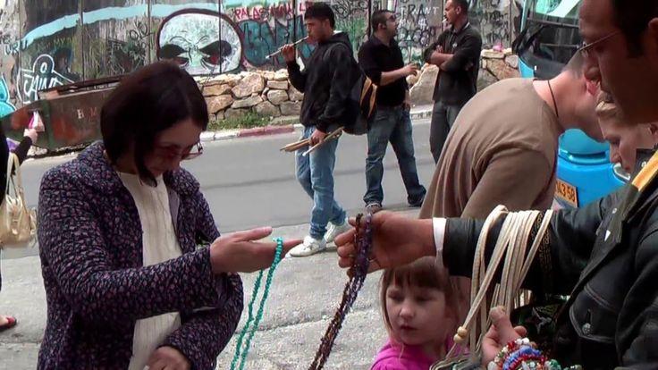 Шоппинг в Вифлиеме, Палестина, Израиль.