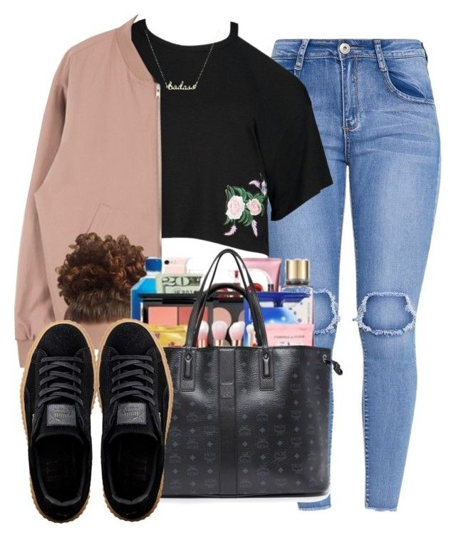 Untitled #305 by champagnayegang on Polyvore featuring polyvore fashion style Boohoo Puma MCM clothing