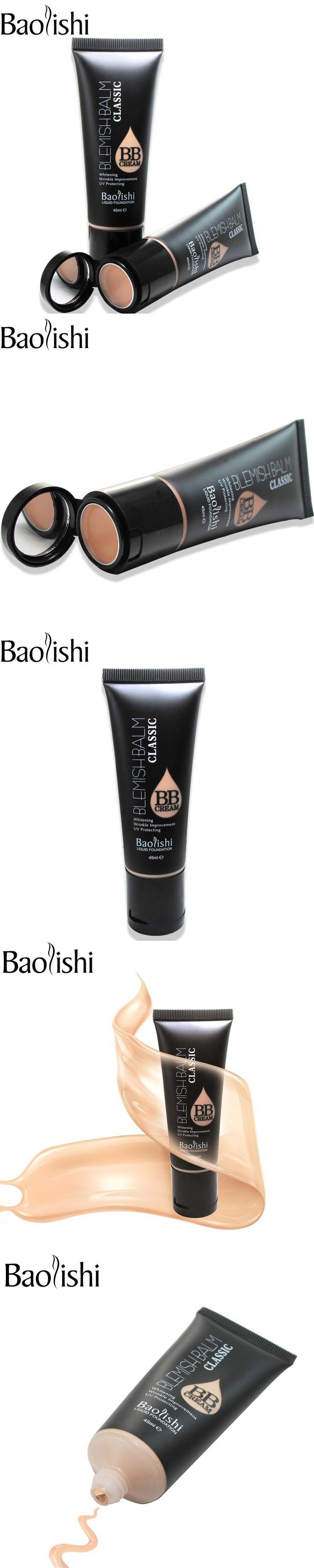 baolishi 5 color Face Foundation Makeup whitening BB Cream Concealer nude makeup Foundation SPF 25 PA ++ UV protection sun cream