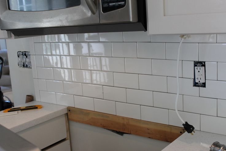 how to end a backsplash kitchen pinterest warm