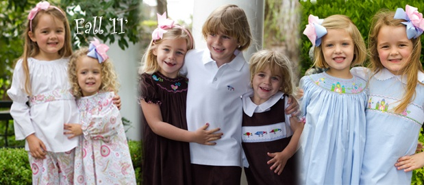adorable smocked children's clothing