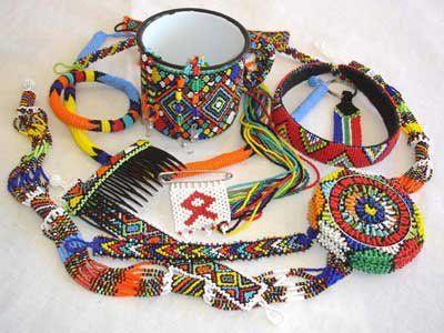 Zulu Beadwork Jewelry