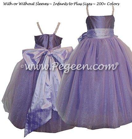 Flower Girl Dress Style 909 - Amethyst- Fairytale Collection