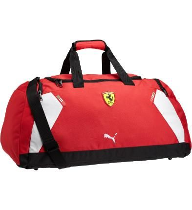 Ferrari Replica Duffel Bag: In order of importance, it goes: Your family. Your significant other. Your ride. Even if the latter isn