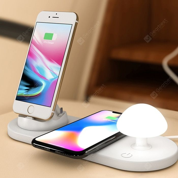 Utorch B06 Creative Wireless Fast Charging Us In 2020 Wireless Charger Night Light Fast Charging