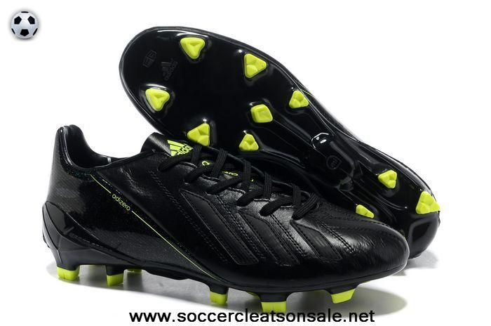 2014 Brazil World Cup Adidas Copa Mundial FG adidas adizero Metallic TRX FG  Leather Black Fluorescent Yellow Football Boots
