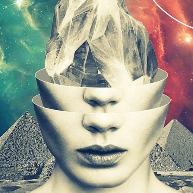 Los collages retro-futuristas de Khan Nova